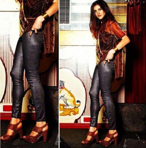 Shiny Disco Jeans Online