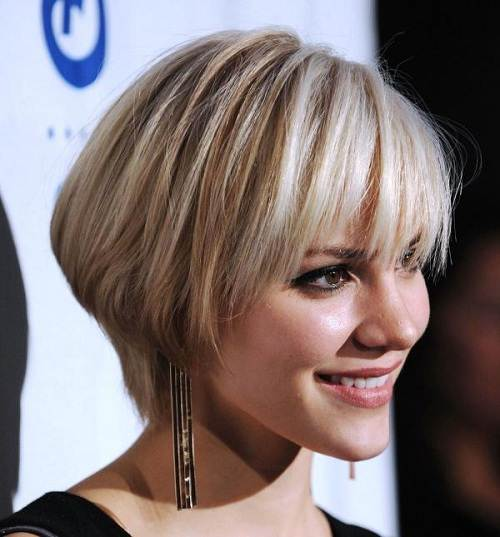 Short Hairstyles with Bangs Pictures