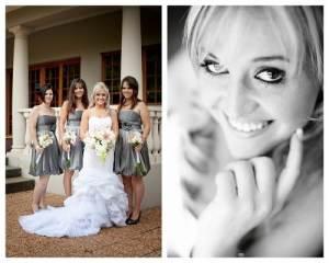 Silver Bridesmaid Dresses 2013
