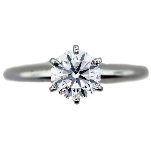 Solitaire Engagement Rings on Hand for Bride