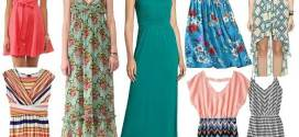 Summer Dresses for Juniors with Cheerful Motifs