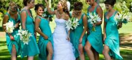 Tiffany Blue Bridesmaid Dresses for Exiting Bridal Ideas