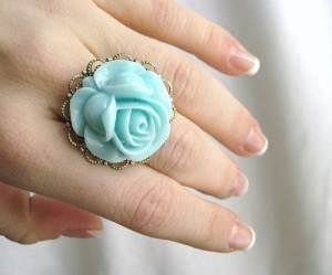 Tiffany Blue Ring Bearer