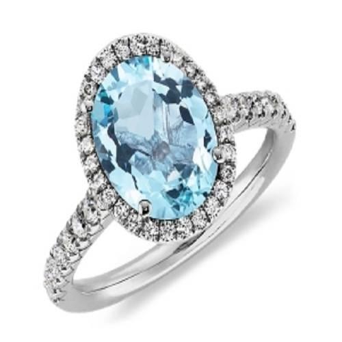 Tiffany Blue Round Ring Ideas