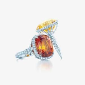 Tiffany Blue Round Ring Styles