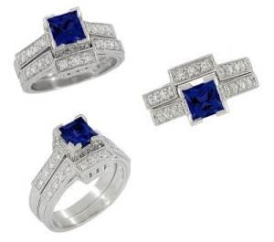 Unique Sapphire Engagement Rings Styles