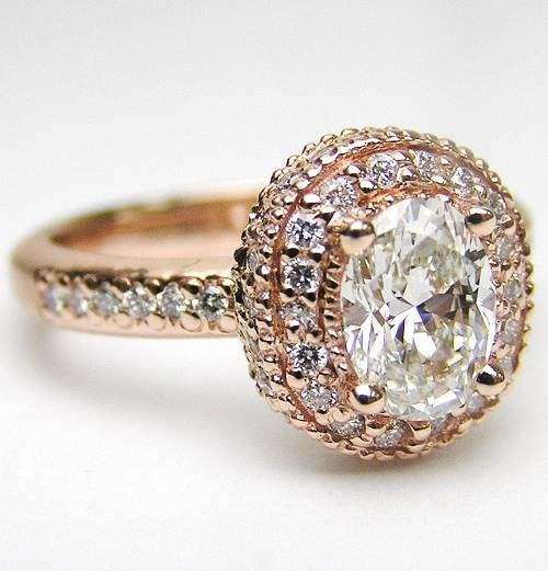 Vintage Engagement Rings Gold