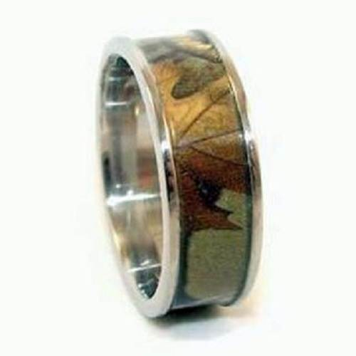 Wetlands Camo Rings for Men Photos