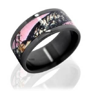 Wetlands Camo Wedding Rings Images
