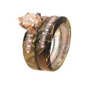 Wetlands Camo Wedding Rings for Sale