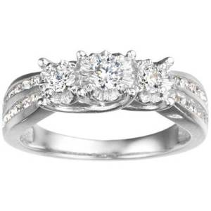 White Gold Wedding Rings for Women Cheap