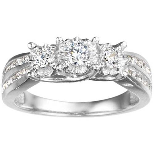 White Gold Wedding Rings For Women With Diamonds White Gold Wedding Rin...
