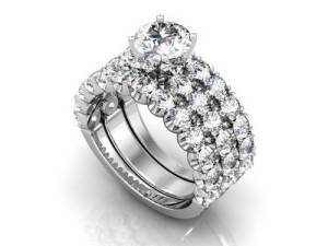 Wholesale Diamond Engagement Rings los Angeles