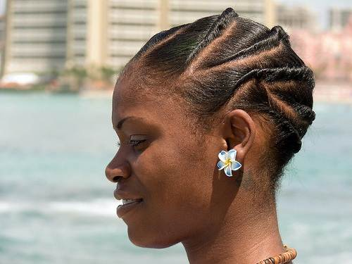 African American Bun Updo Styles