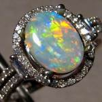 Amazing Opal Engagement Rings 2013