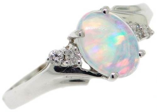 Amazing Opal Engagement Rings Concept