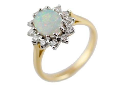 Amazing Opal Engagement Rings Ideas