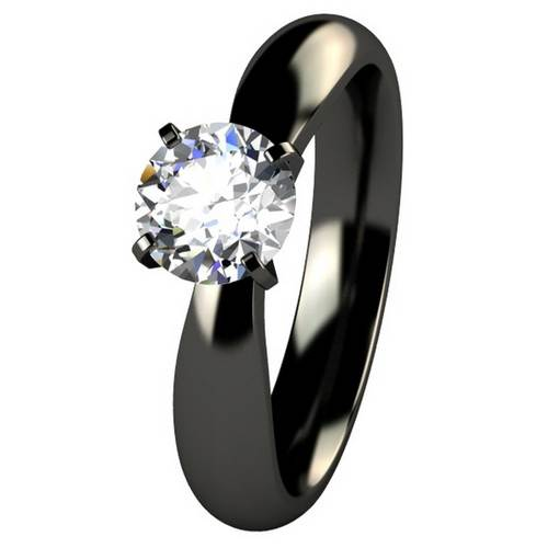 Black Wedding Rings for Women Model