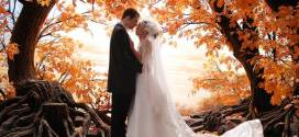 Fall Wedding Ideas in Orange Scheme
