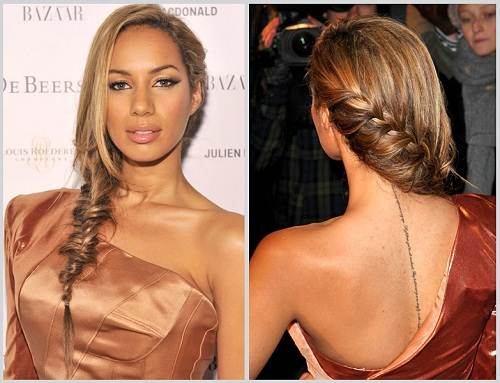 Fishtail Braid Hairstyles Images