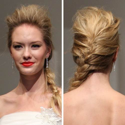 Fishtail Braid Hairstyles for Women