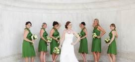 Green Bridesmaid Dresses for Fresher Spring Wedding