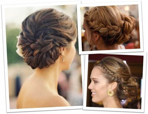 Of The Bride Updos For Weddings - Elegant hairstyles for round face