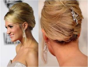 Red Carpet Updo Hairstyles 2013