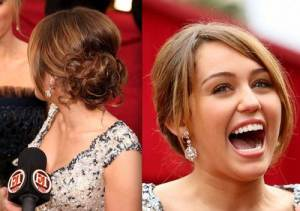 Red Carpet Updo Hairstyles Back View