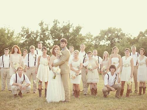 Rustic Wedding Ideas Photos