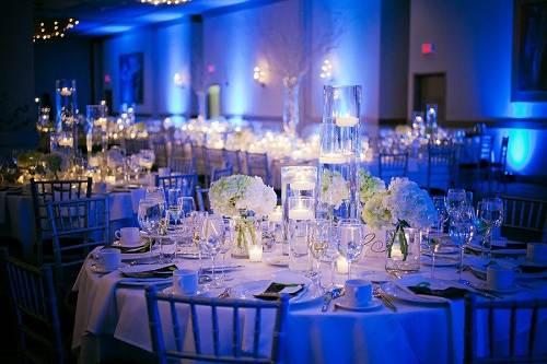 Wedding Reception Ideas Blue