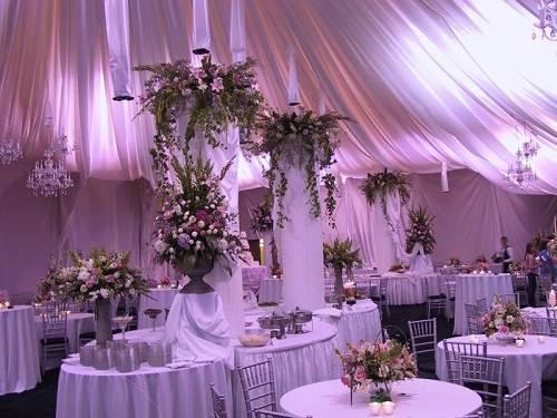Wedding Reception Ideas Purple