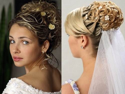 2013 Wedding Hairstyles And Updos: Wedding Updos For Long Hair With Veil
