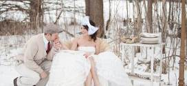 Winter Wedding Ideas in Snowy White Style