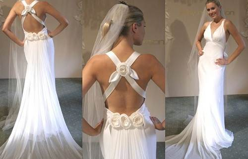 Backless Wedding Gown Ideas