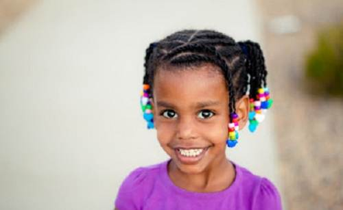 Beads for Hair Little Girls Images