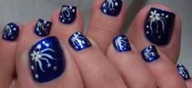 Bright Toe Nail Designs Tutorial Tips