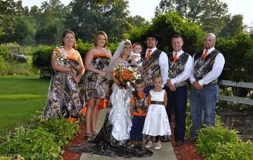 Camouflage Wedding Dresses Plus Size - Fashion Female