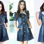 Denim Outfits Women 2013
