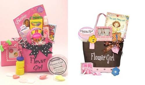 Flower Girl Gift Baskets : Flower girl gifts ideas