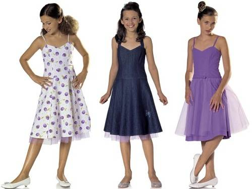 Girls Dresses Patterns Sewing