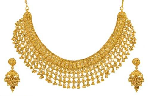 Gold necklace Sets India