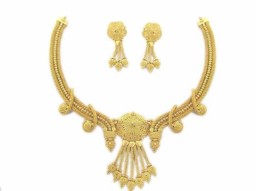 Gold necklace Sets with Price