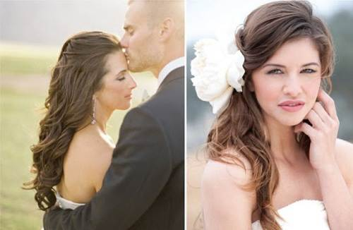 Greek Goddess Wedding Hairstyles Concept