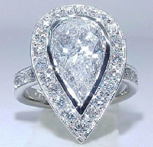 Huge Diamond Rings for Bridal