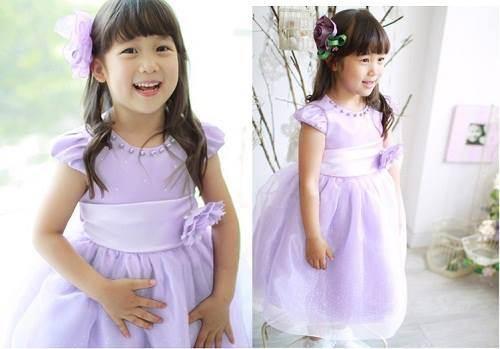 Junior Dress Purple 2013