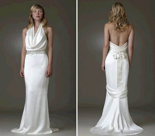 Lace Low Back Wedding Dress for Sale