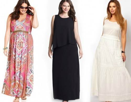Maxi Dress Curvy Women For Summer