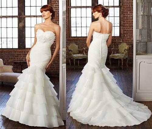 Mermaids Wedding Dresses Designs