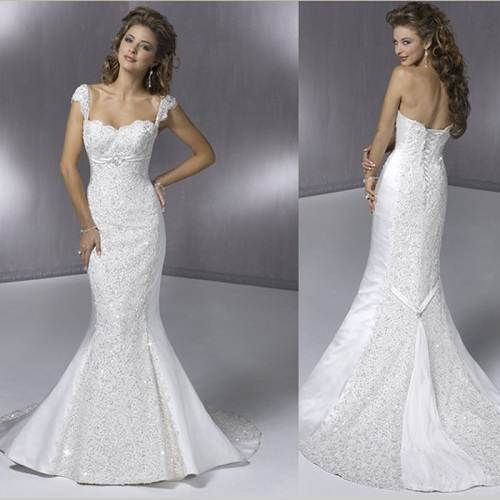 Mermaids Wedding Dresses Ideas